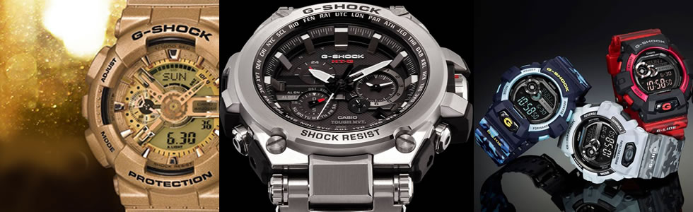 We will deliver to you the premium G-SHOCK only sold in Japan.